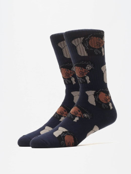 40s & Shorties Ponožky Legend  modrá
