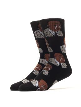 40s & Shorties Socks The Greatest black