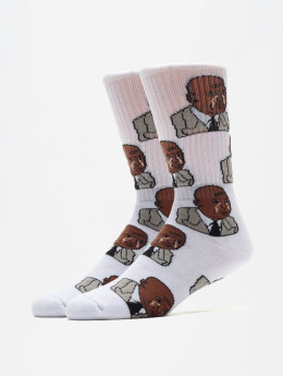 40s & Shorties Socks The Greatest  white