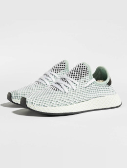 adidas originals Сникеры Deerupt Runner W зеленый