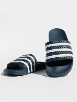 adidas originals Шлёпанцы Adiletten синий