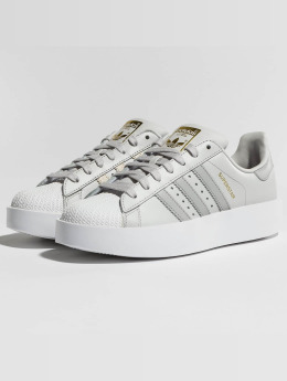 adidas originals Baskets Superstar Bold gris
