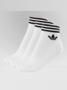 adidas originals Calcetines Trefoil blanco
