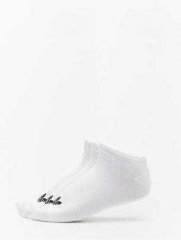 adidas originals Chaussettes Trefoil Liner blanc