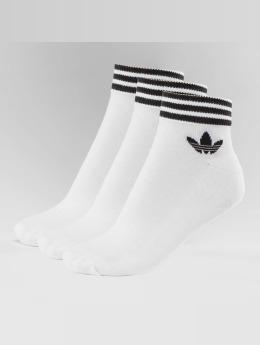 adidas originals Ponožky Trefoil bílý