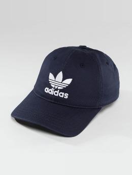 adidas originals Snapback Trefoil Cap modrá