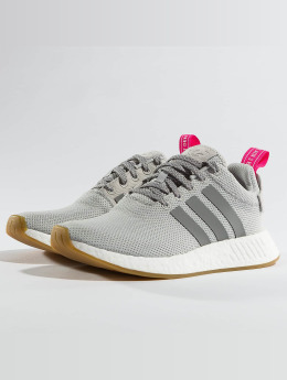 new style 47d56 07159 adidas originals Sneakers NMD R2 W grå