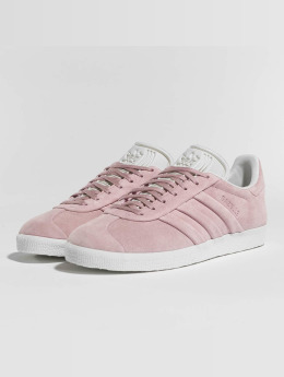 Adidas Gazelle Stitch And Turn Sneakers Won Pink/Won Pink/Footwear White