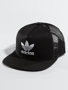 adidas originals trucker cap Trefoil zwart
