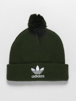adidas originals Winter Bonnet Pom Pom olive
