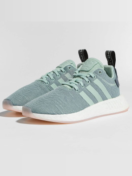 Adidas NMD_R2 W Sneakers Raw Steel/Ash Green/Ftwr White