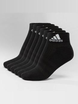 adidas 3-Stripes Per An HC 6-Pairs Socks Black/Black/White