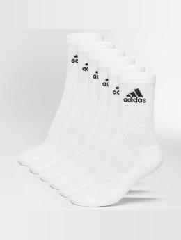 adidas Performance Chaussettes 3-Stripes blanc