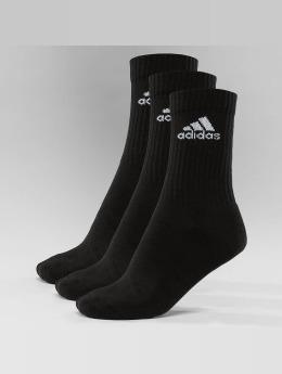 adidas Performance Männer,Frauen Socken Performance 3-Stripes Performance Crew in schwarz