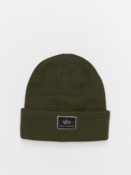 Alpha Industries шляпа X-Fit зеленый
