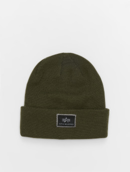 Alpha Industries Beanie X-Fit  grün
