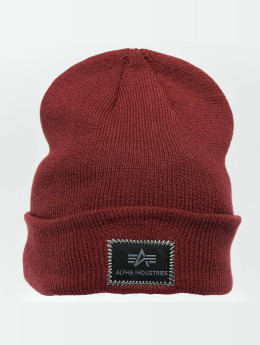 Alpha Industries Beanie X-Fit rot