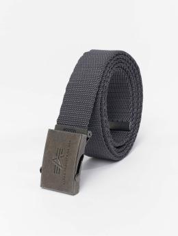 Alpha Industries Belt Heavy Duty gray