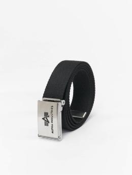 Alpha Industries Belts Big A svart