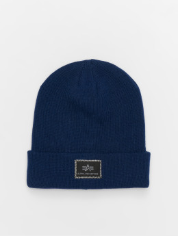 Alpha Industries Bonnet X-Fit bleu