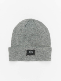 Alpha Industries Bonnet X-Fit gris