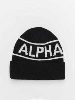Alpha Industries Czapki Block czarny