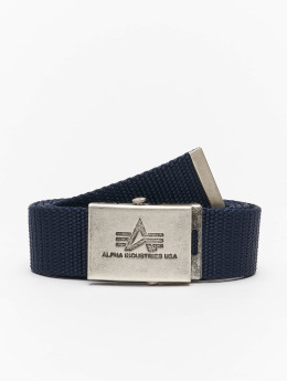 Alpha Industries Gürtel Heavy Duty blau