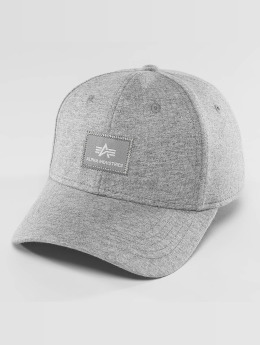 Alpha Industries Snapback Cap X-Fit II grau