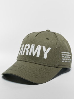 Alpha Industries snapback cap Army groen