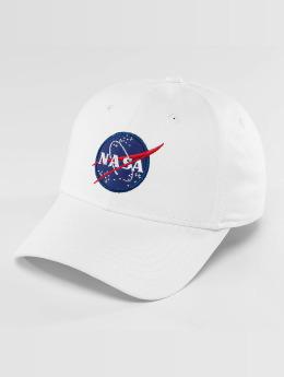 Alpha Industries Snapback Cap NASA weiß