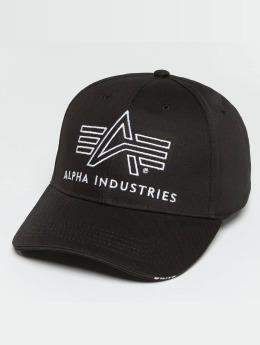 Alpha Industries snapback cap Big A Classic zwart