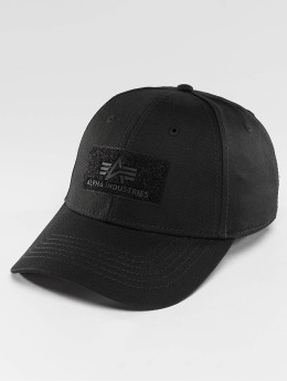 Alpha Industries Snapback Caps Velcro  šedá