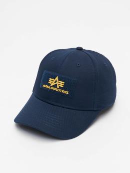 Alpha Industries Snapback Caps Velcro II blå