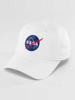 Alpha Industries Snapback Caps NASA hvit