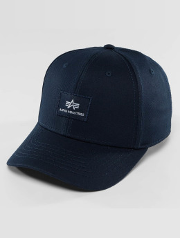 Alpha Industries Snapback Caps X-Fit II niebieski