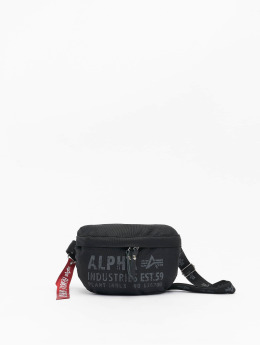 Alpha Industries Tašky Cargo Oxford Waist Bag  čern