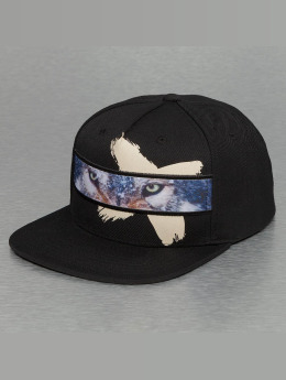 Bangastic Snapback Cap Wolf  schwarz