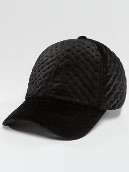Bangastic Snapback Cap Velvet schwarz