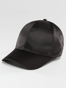 Bangastic Snapback Caps Satin musta