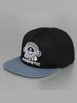 Bangastic Snapback Caps Logo svart