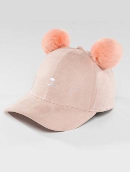 Bangastic Snapback Caps Teddy vaaleanpunainen