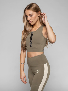 Beyond Limits Sports-BH Intense Front Zip khaki