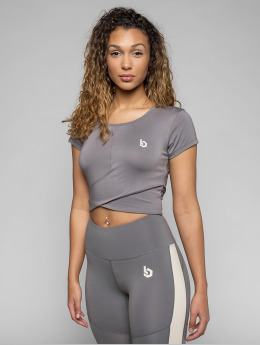 Beyond Limits T-Shirt Bonded  gray
