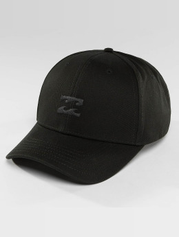 Billabong Snapback Caps Emblem musta