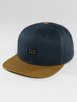 Billabong Snapback Caps Primary niebieski