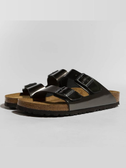 Birkenstock Badesko/sandaler Arizona NL SFB Metallic grå