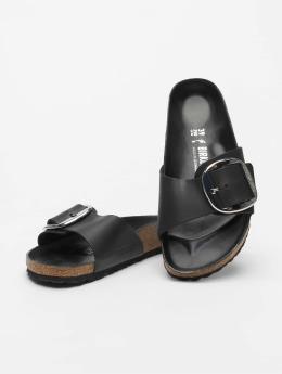 Birkenstock Badesko/sandaler Madrid Big Buckle svart