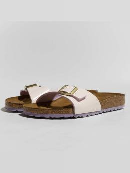 Birkenstock Claquettes & Sandales Madrid BF Patent Two Tone rose