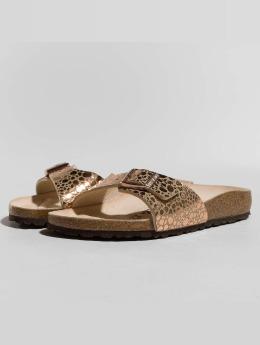 Birkenstock Sandaalit Madrid BF Metallic Stones roosa
