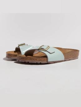 Birkenstock Sandals Madrid BF Patent Two Tone blue